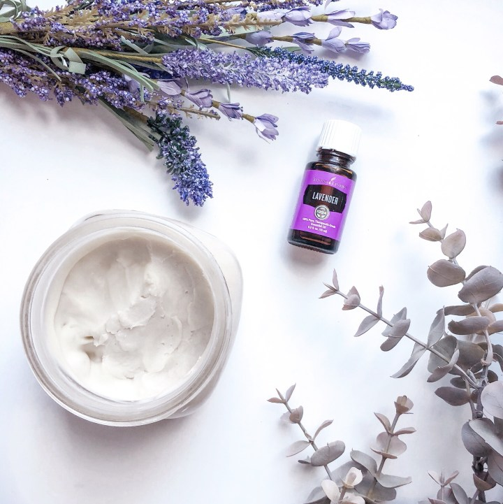 Homemade Lavender Body Butter