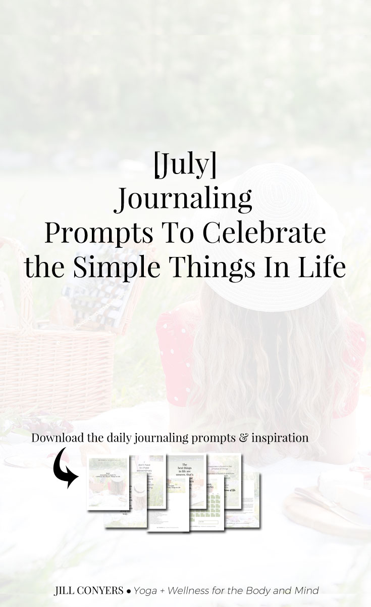 Journaling Prompts To Celebrate The Simple Things In Life