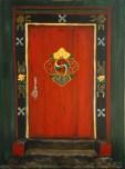 Mandala Door - SOLD
