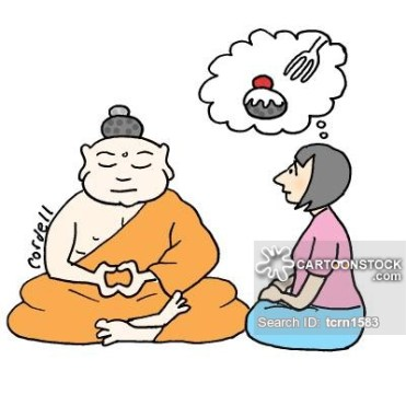 Buddha's hairstyle creates cravings in a disciple