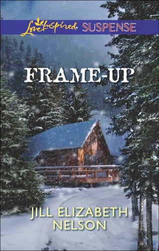 Cover for Jill Elizabeth Nelson's book Frame Up, A Love Inspired Suspense Mystery