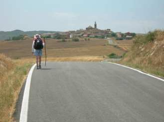 Camino to Santiago leading to Samsol, Spain ©Timothy Charles Geoffrion. Do not copy without permission.