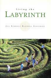 Cover of Living the Labyrinth by Jill K H Geoffrion