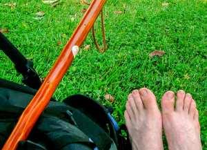 Pilgrim's Feet photograph by Jill K H Geoffrion