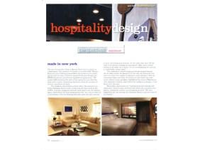 Hospitality Design May 2012