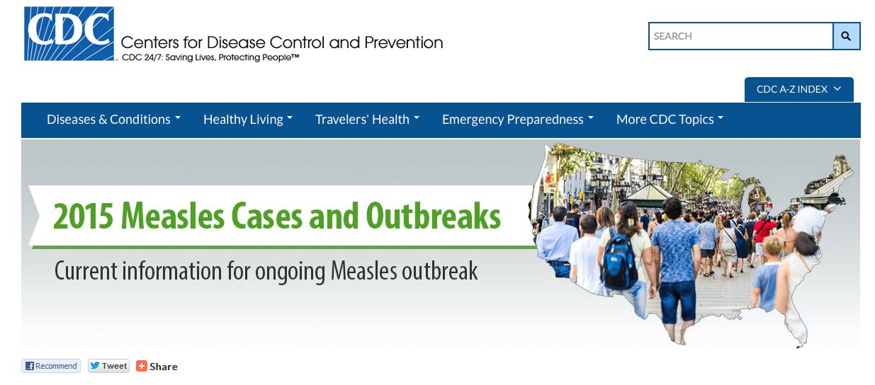Measles Memo: VACCINES WORK!