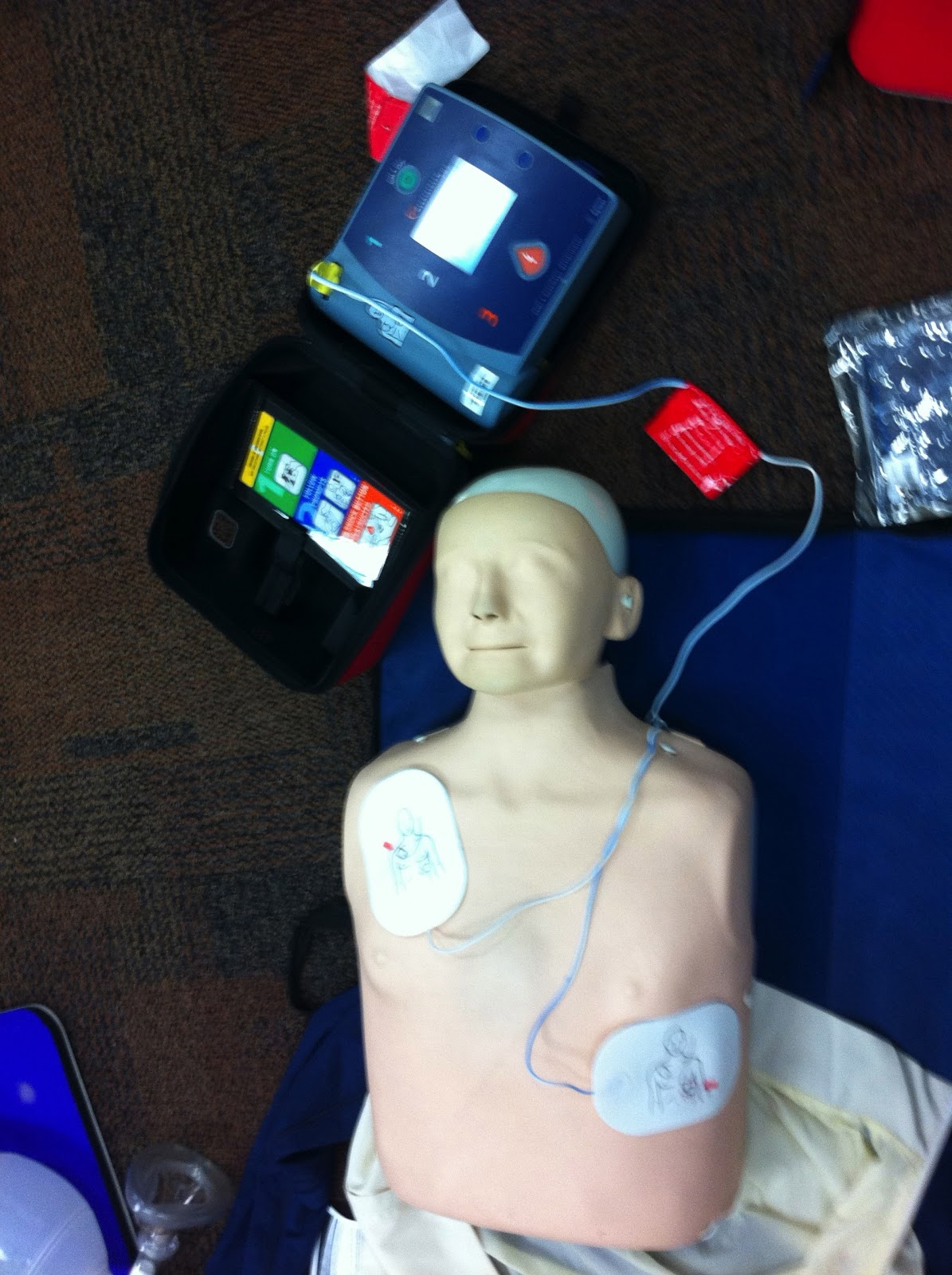 Staying Alive! Hands-Only CPR & AEDs