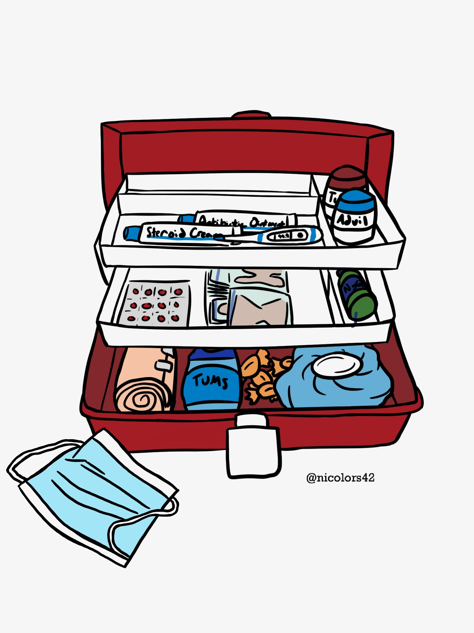 How to Make the BEST College First Aid Kit