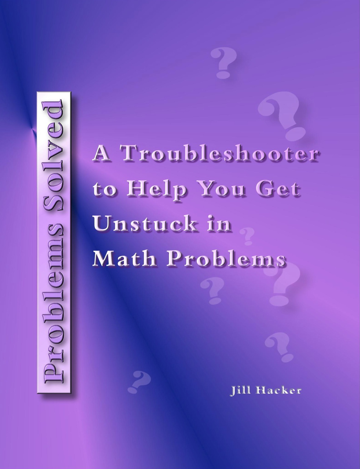 Problems Solved: a Free Math Troubleshooter - Free Math Help