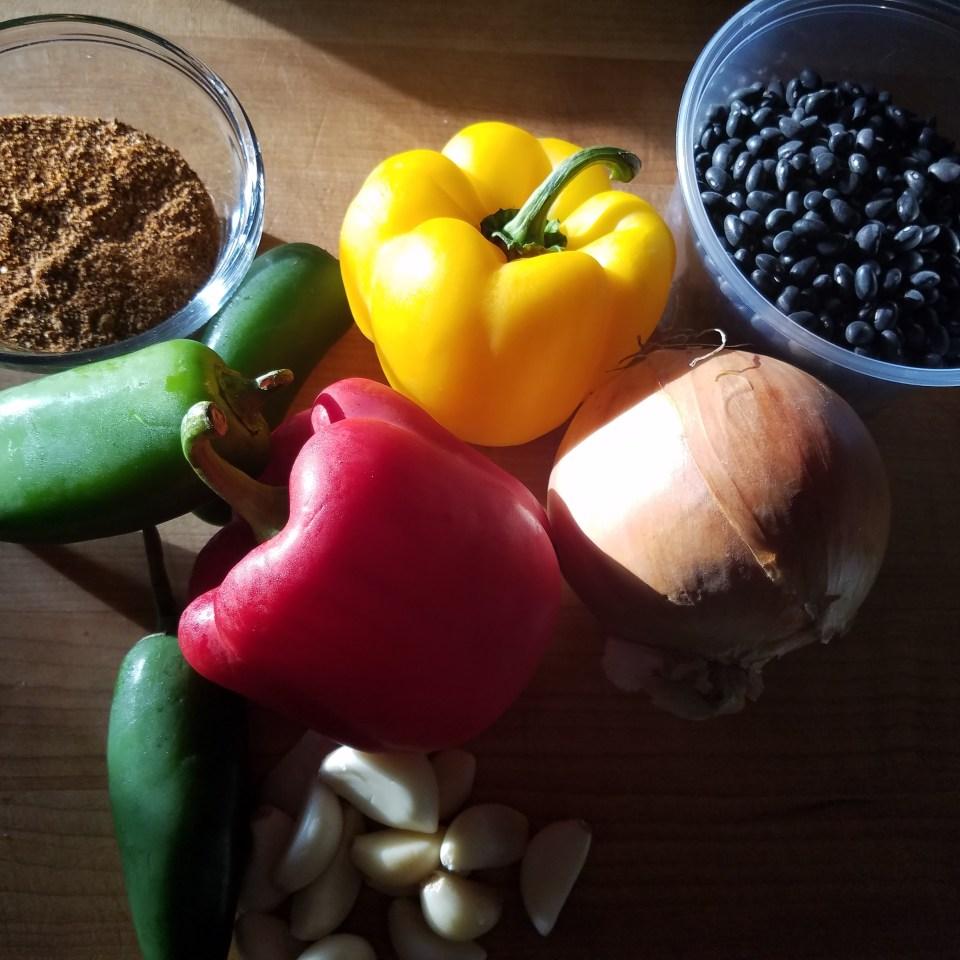 Black Beans veg