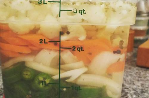 giardiniere escabeche pickle recipe