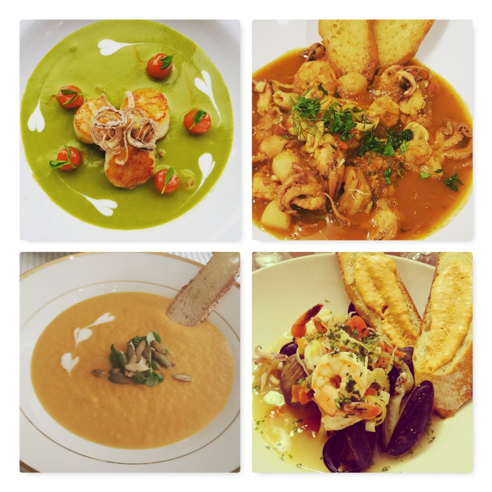 Dinner Party Soup Courses