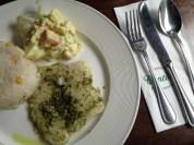 Conti's lunch alone