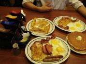 Midnight breakfast at IHOP