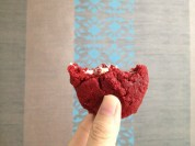A red velvet cookie from my lovely Nadine