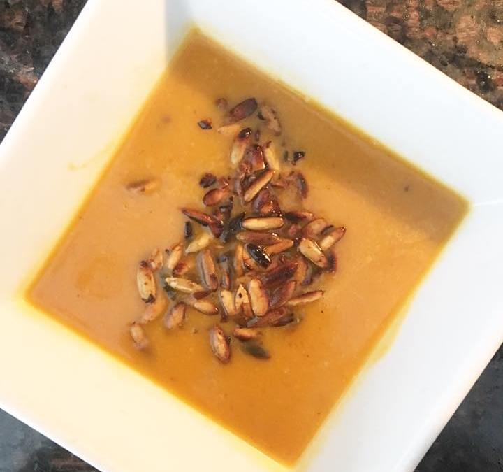 Paleo, Gluten Free and Dairy Free Butternut Squash Soup