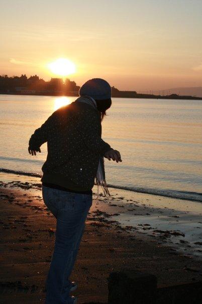 Ballyholme Beach Sunset