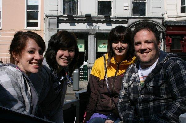 Carriage ride in Dublin, Ireland!