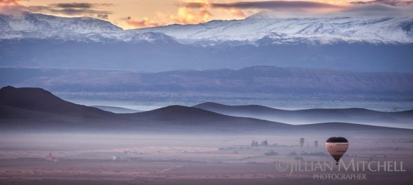 Atlas Mountains Sunrise, Morocco.