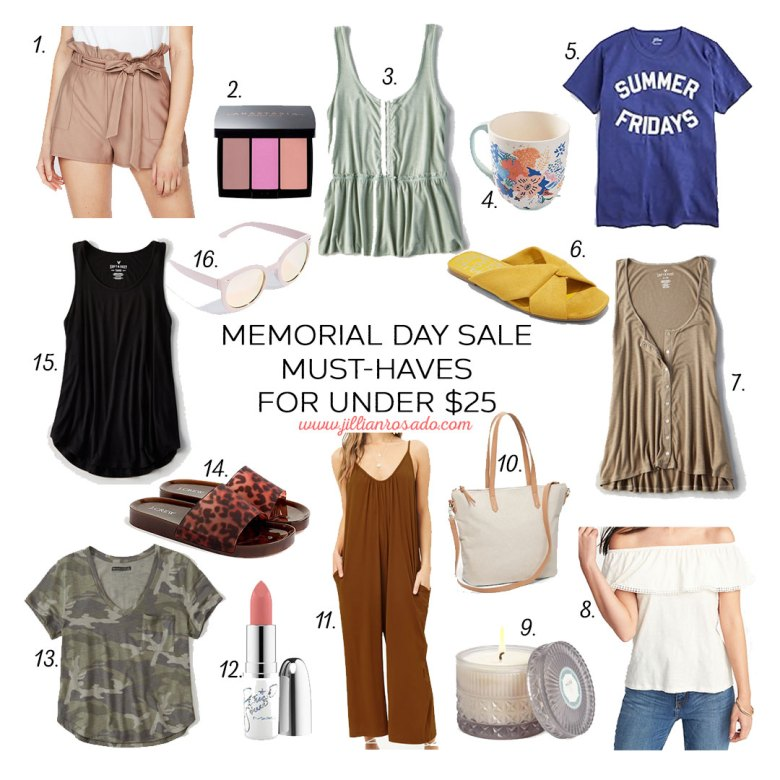 Memorial Day Must-Haves for Under $25