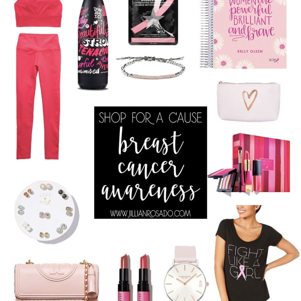 Shop For A Cause Breast Cancer Awareness 2018 Jillian Rosado BCRF