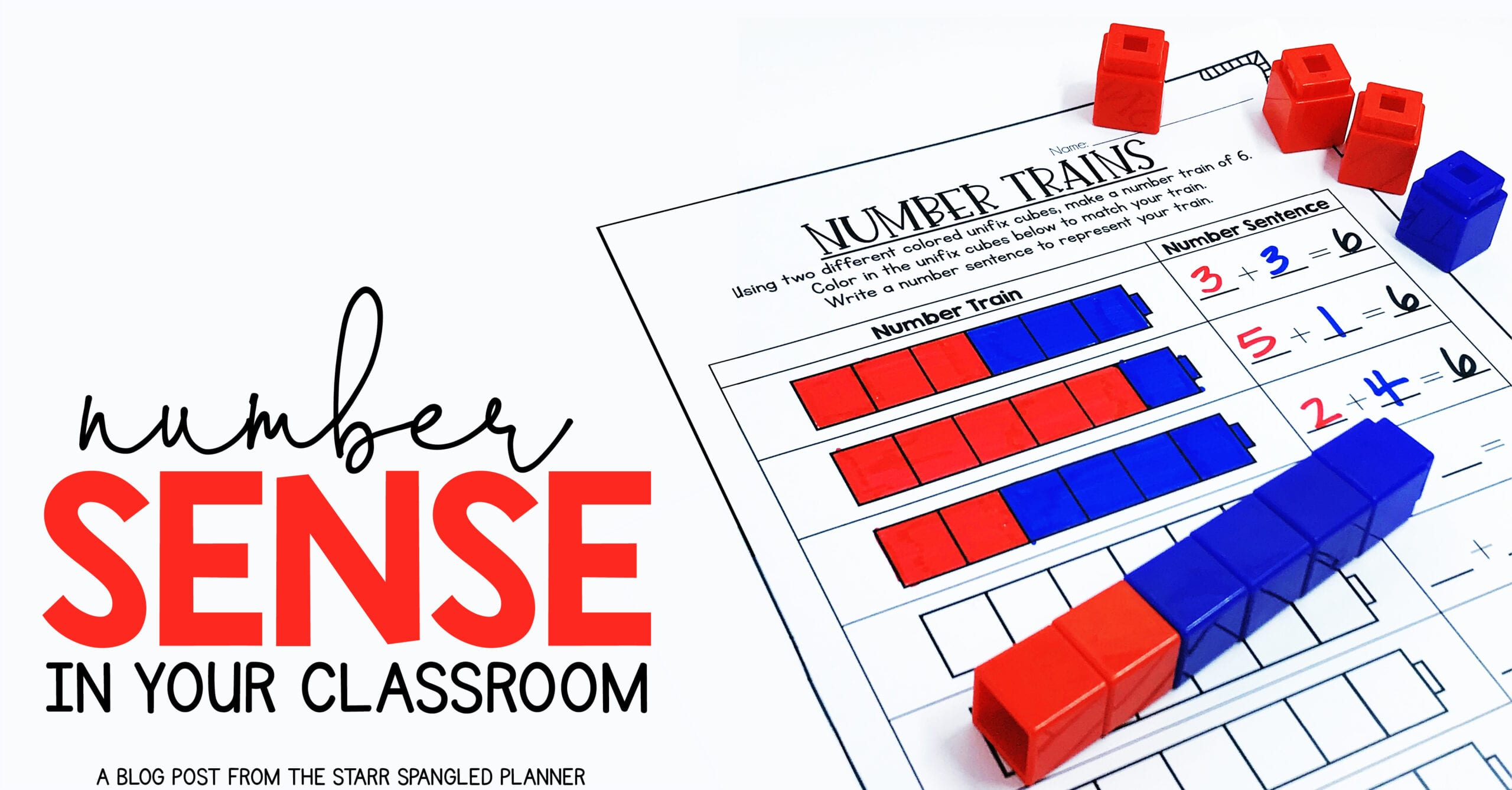Building number sense in the classroom- math centers, games and activities to help develop number sense in your students