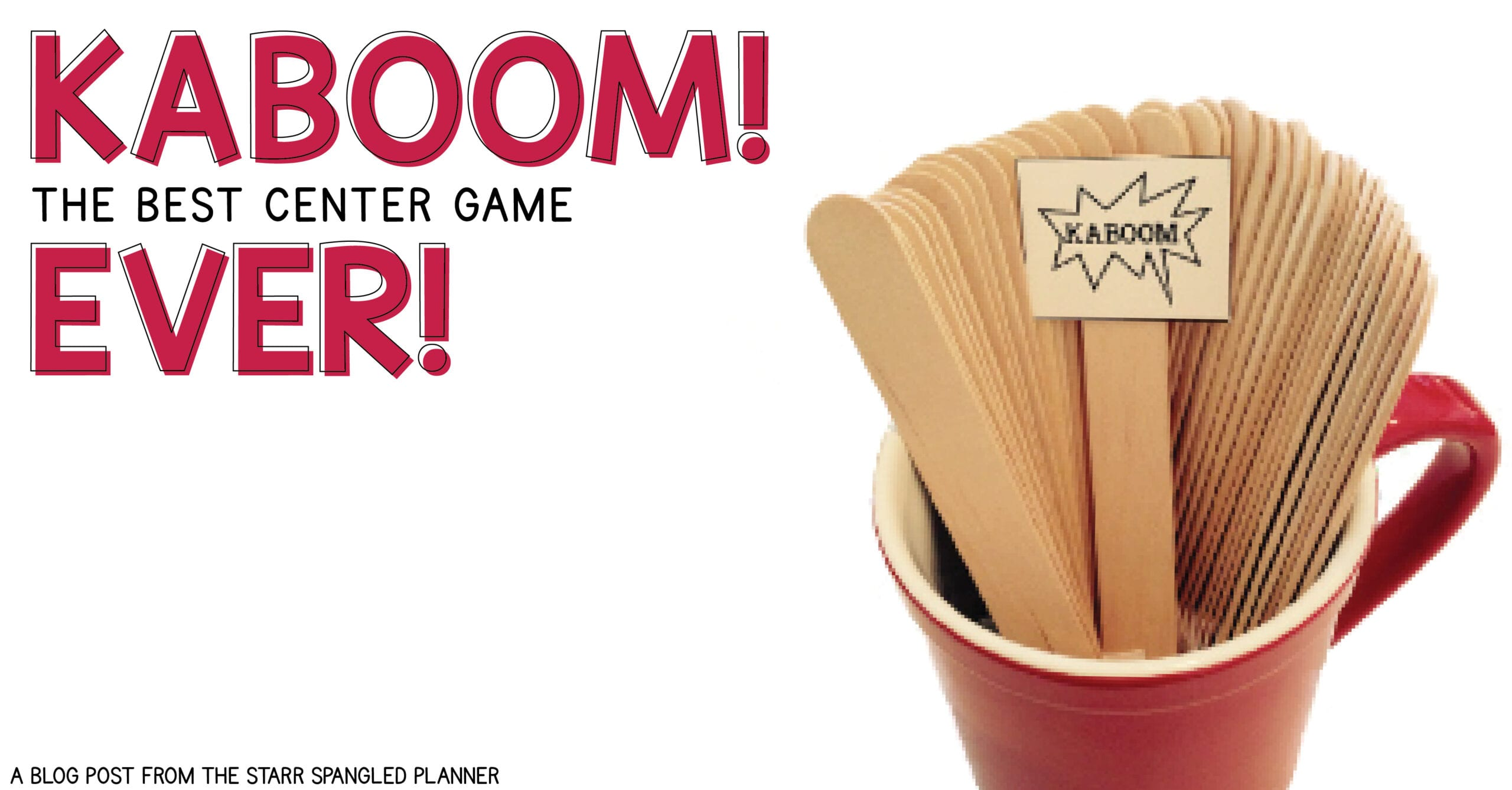 Kaboom! is an amazing game for math and literacy centers. It is engaging, adaptable to any curriculum, and kids love it!