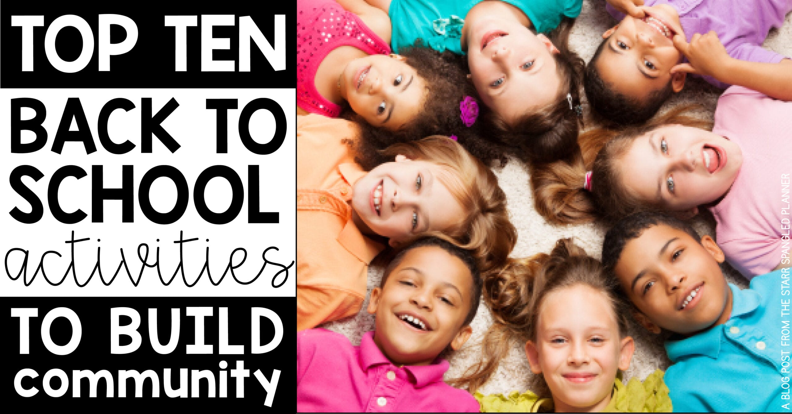 Top 10 Back To School Activities to Build Classroom Community