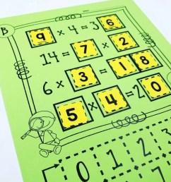 10 Multiplication Math Center Games \u0026 Activities [ 1024 x 1024 Pixel ]