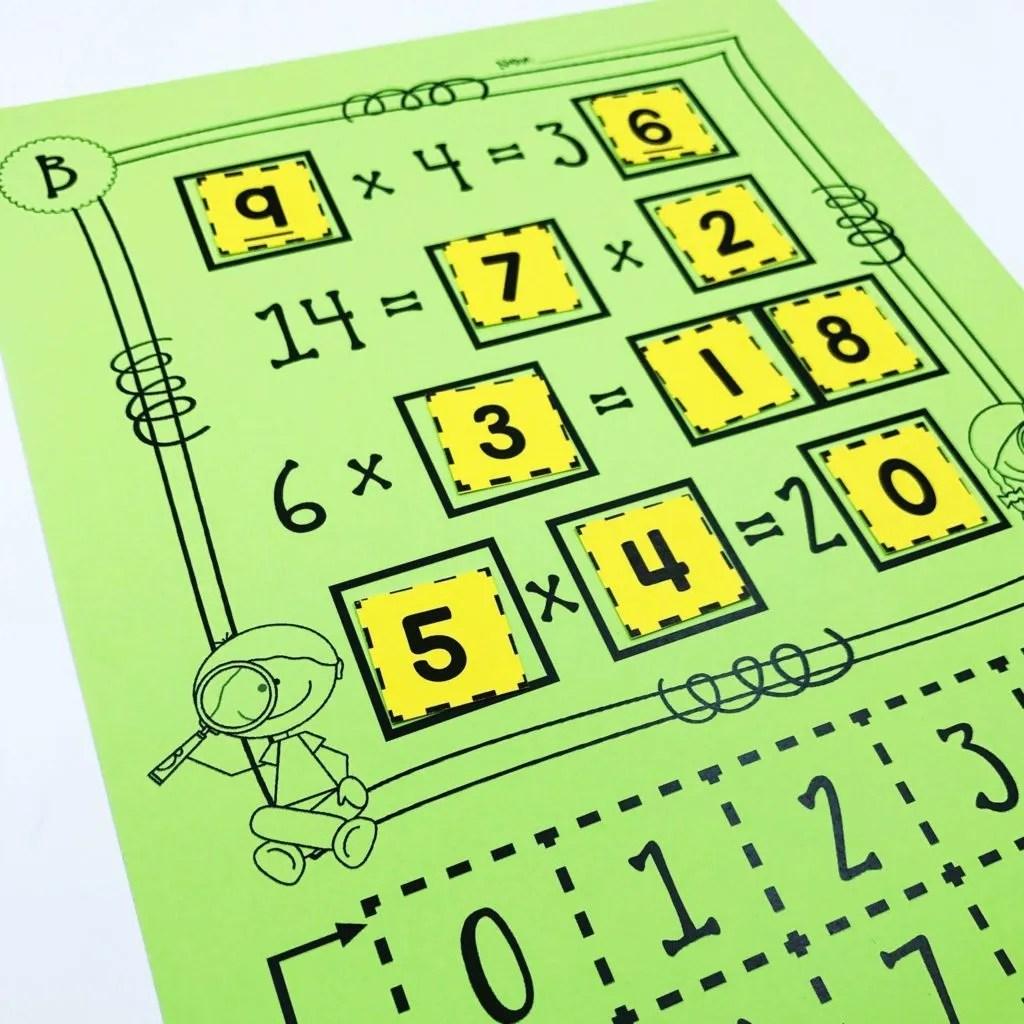 hight resolution of 10 Multiplication Math Center Games \u0026 Activities