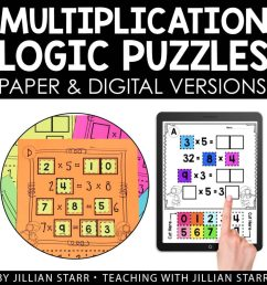 10 Multiplication Math Center Games \u0026 Activities [ 1024 x 1024 Pixel ]