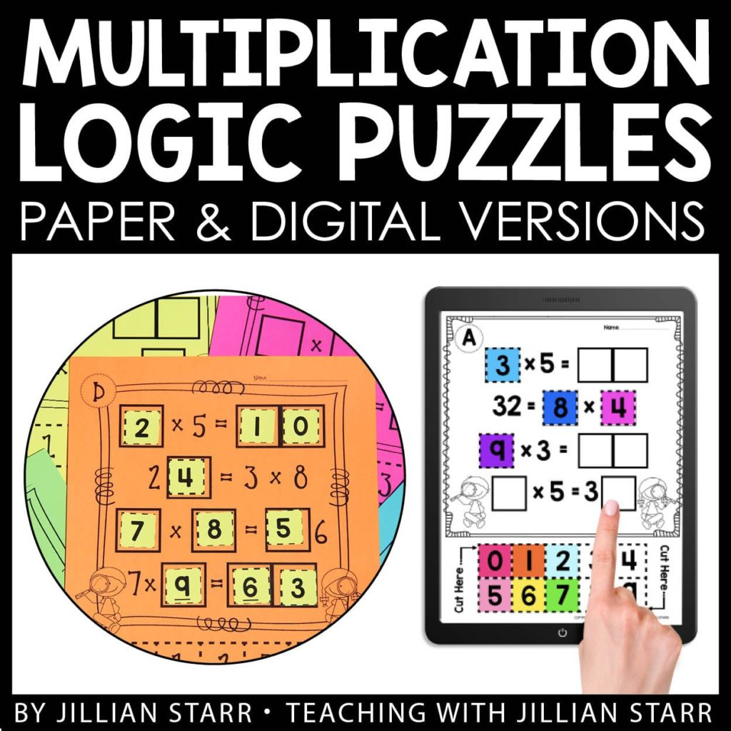 hight resolution of 10 Multiplication Math Center Games \u0026 Activities