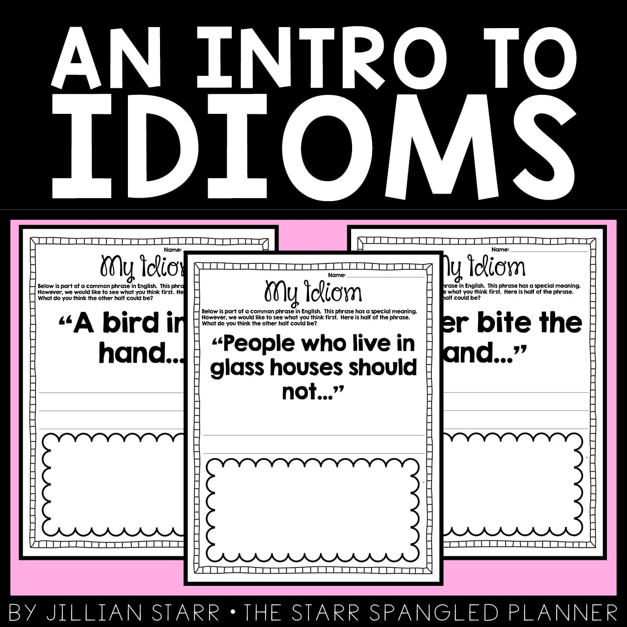 functions of idioms