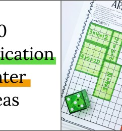 10 Multiplication Math Center Games \u0026 Activities [ 1000 x 1920 Pixel ]