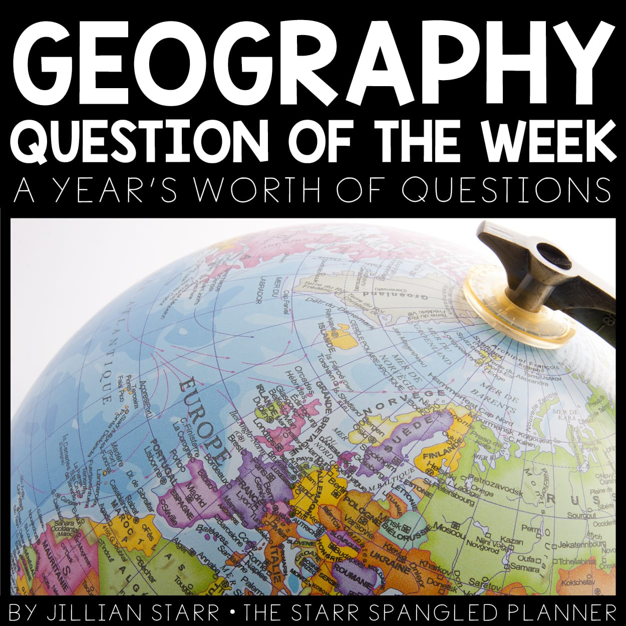 Geography Question of the Week to get students engaged in learning about geography, maps, and the world.