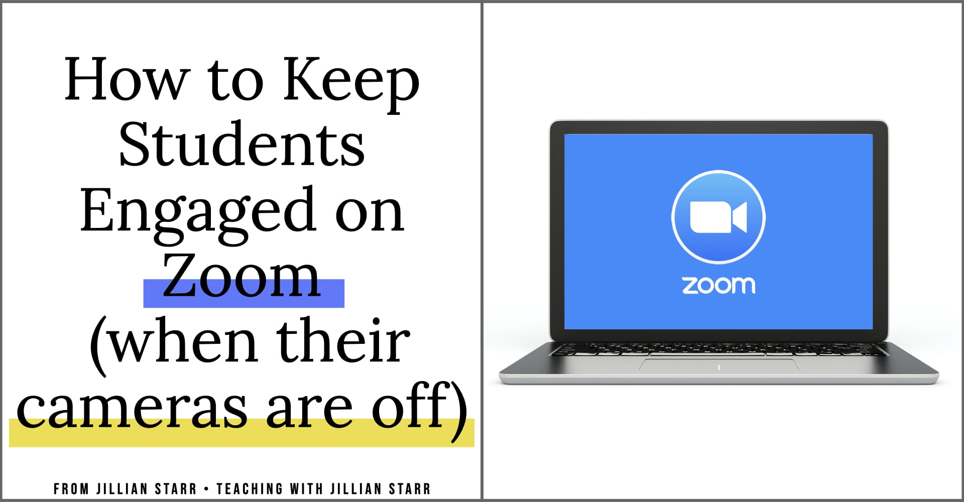 Student engagement can be difficult to navigate through a screen during a Zoom lesson. Let's talk about strategies to keep students engaged during your zoom lessons, even when the cameras are off.
