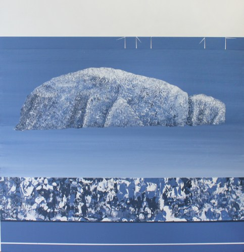 Bass Rock from Beach Cottage - sold