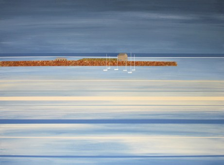 Tide lines, Elie - sold