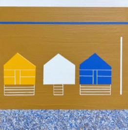 Beach Huts, Coldingham Bay - sold
