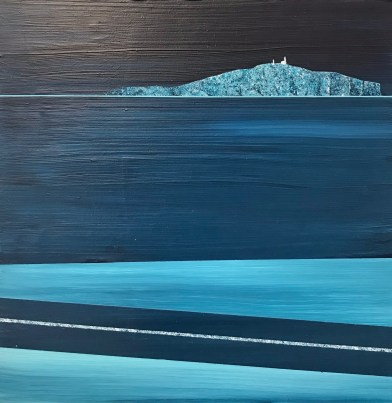 Late night, May Island - sold