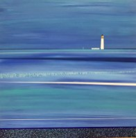 The seas around Barns Ness Lighthouse - sold