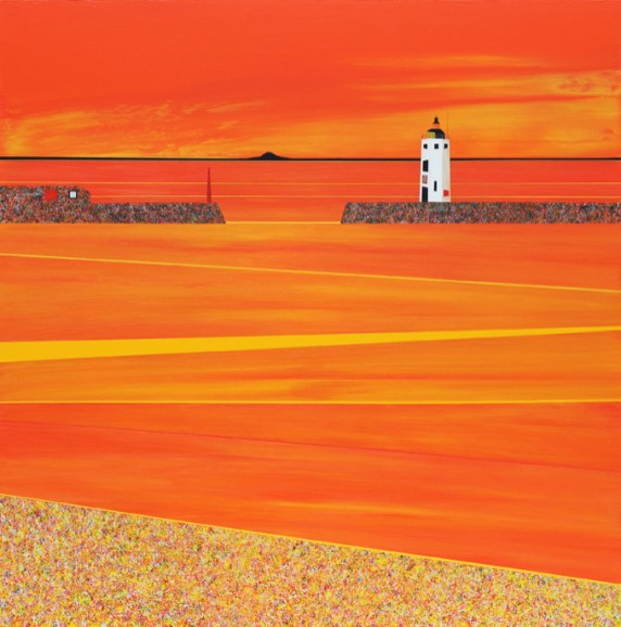Chalmers' Lighthouse, Sunset - sold