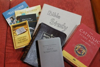 """Evaluating """"Standard"""" Christianity with Jehovah's Witnesses"""