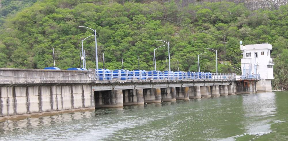 dam at Presa La Boca