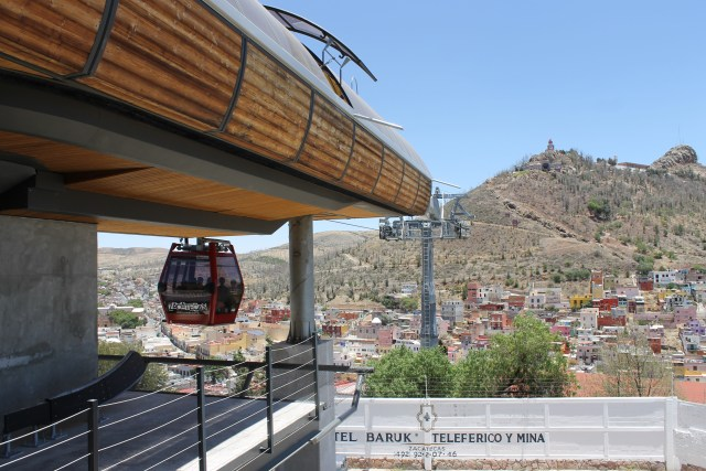 cable car in Zacatecas