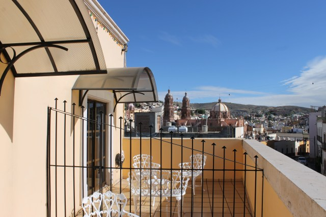 View of Zacatecas from Casa Cortes