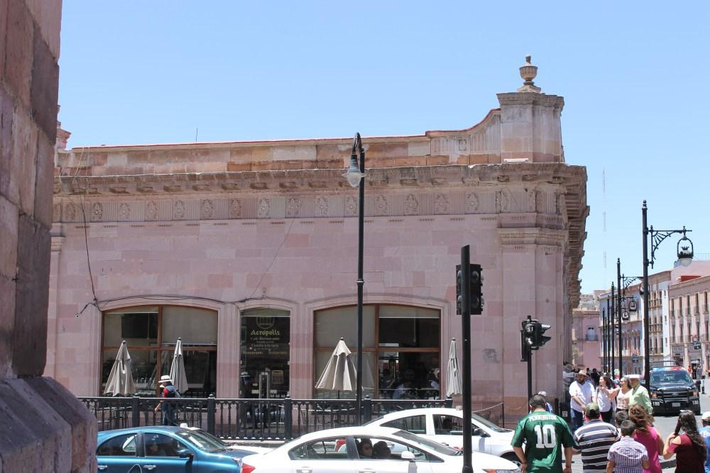 Acropolis restaurant, Zacatecas