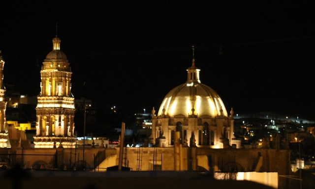 zacatecas at night