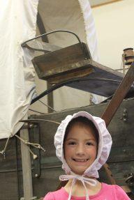 Posing at LIW Museum, Pepin
