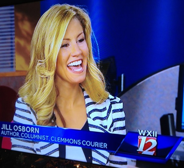 Talking About Jill's Book On WXII 12